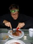 Barbecue nocturne