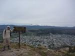 Vue de la vallee d'Esquel