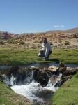 Cours d'eau au milieu du desert