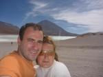 Volcan Licqncqbur et Laguna Verde et nous