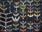 Colliers ethniques, pierres semi-precieuses : 12€