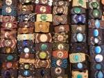 Bracelets ethniques, pierres semi-precieuses :10€