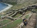 Labyrinthe Inca sur l'Isla del Sol