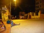 Y a pas que les Boliviens qui peuvent dormir dans la rue...