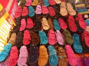 sandales 6 euros : toutes les couleurs