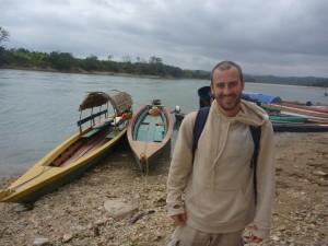 Arrivee au Guatemala