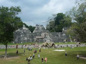 Tikal a l´heure des touristes
