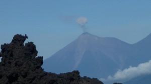Crachotis du volcan d'en face