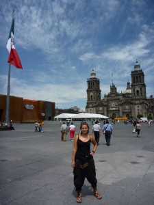 Zocalo de Mexico (comprendre Grand Place)