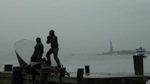 Cherchez la statue of liberty...