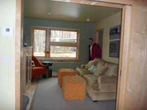 Notre chambre d'amis dans la Lake Cabin