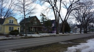 Rue typique de Fargo