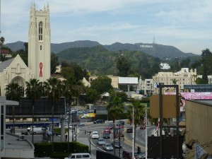 Vue de Hollywood