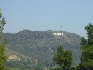 Le celebre Hollywood sign