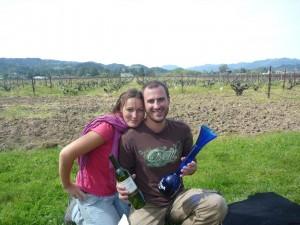 Pique-nique dans les vignes de la Napa Valley