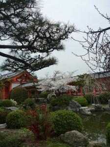 Premier temple a Kyoto