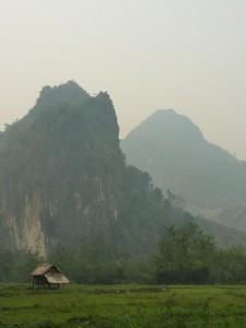 Payages de la vallee de la Nam Ou