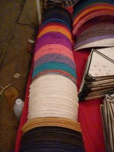 coloris des lanternes rondes