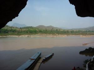 Vue sur la vallee du Mekong