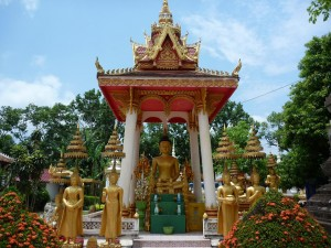 Temple de Wat Saket a Vientiane