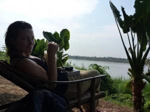 Dernier verre sur le Mekong