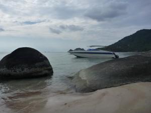Les eaux claires de Koh Tao
