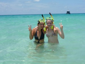 snorkeling entre copines