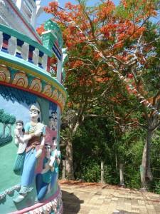 Detail d'un stupa (region de Kampot)