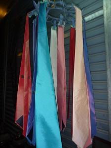 cravates en soie : 5 euros