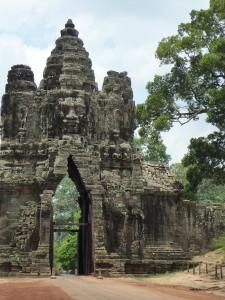Porte de la ville d'Angkor Thom