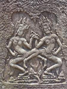 Bas-relief khmer