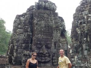 Visages d'Angkor (Bayon)
