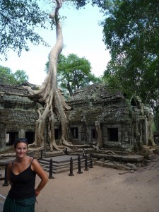 Le mythique Ta Phrom, envahi par la jungle
