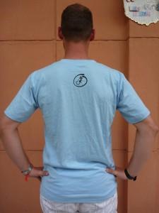 dos T-Shirt Gecko (bleu ciel/bleu marine/noir/blanc/vert flash/vert kaki/rouge)