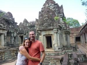 Dans le Preah Khan