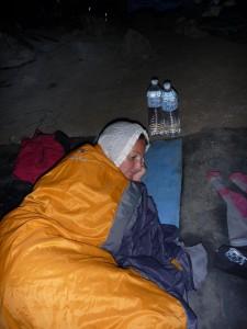 Prete pour une nuit en grotte