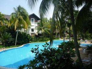 La piscine de l'appart... merci encore a Mimi&Steph !