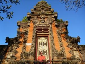 Porte de temple- Ubud