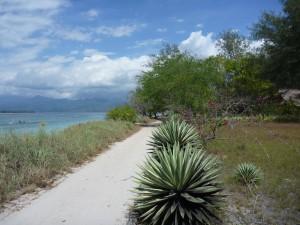 Promenade autour de l'ile de Gili Meno