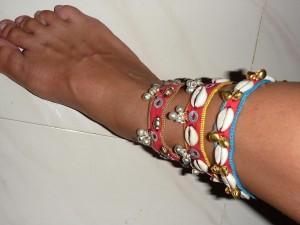 Bracelet de pied : 1eur