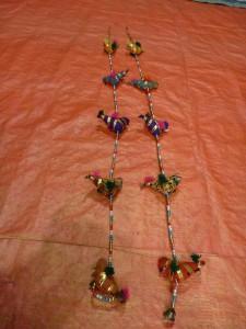 Guirlande poules (+/- 80 cm) : 2eur