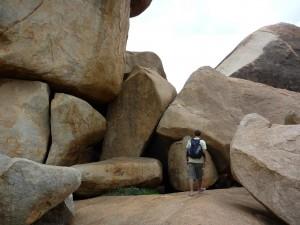 Pierol dans les pierres qui roulent