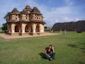 Palais du lotus, Hampi