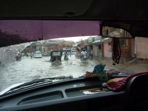 Le deluge sur Jaipur