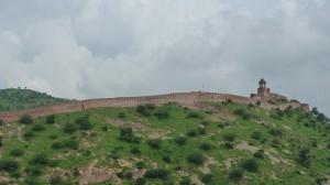 La muraille de Jaipur (muraille de Chine, qui copie qui ?)