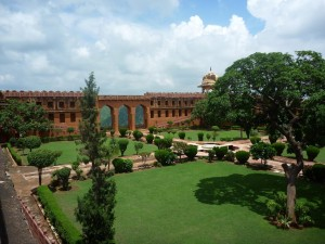 Les jardins du fort de Jaigarth