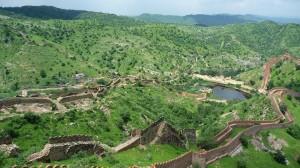 Les montagnes du Rajasthan