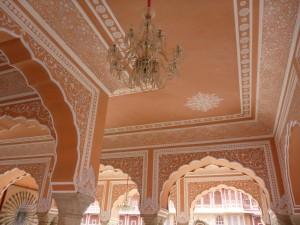 Plafond du City Palace