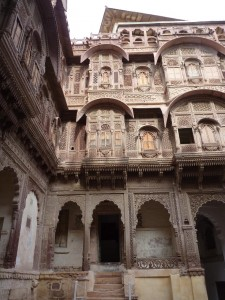 Interieur du palais de Mehrangarh - Jodhpur