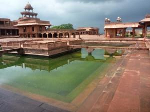 Contrastes sur Fatehpur Sikri